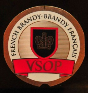 Brandy label