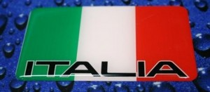 ITALY-Flag-water