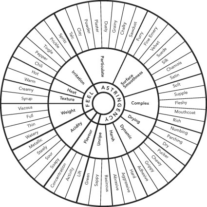 Tasting wheel archive cooking with sin for Food wheel template