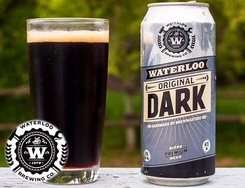 Waterloo Dark Beer w logo