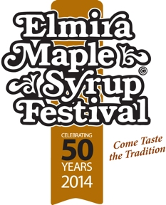 Elmira maple syrup festival 2014 logo