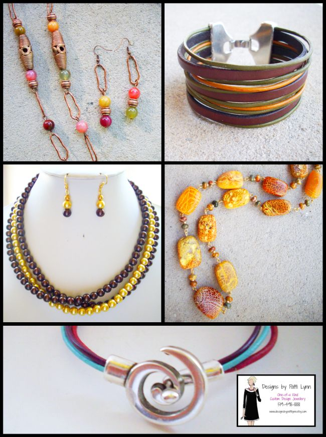 Patti Bolognese jewelry collage