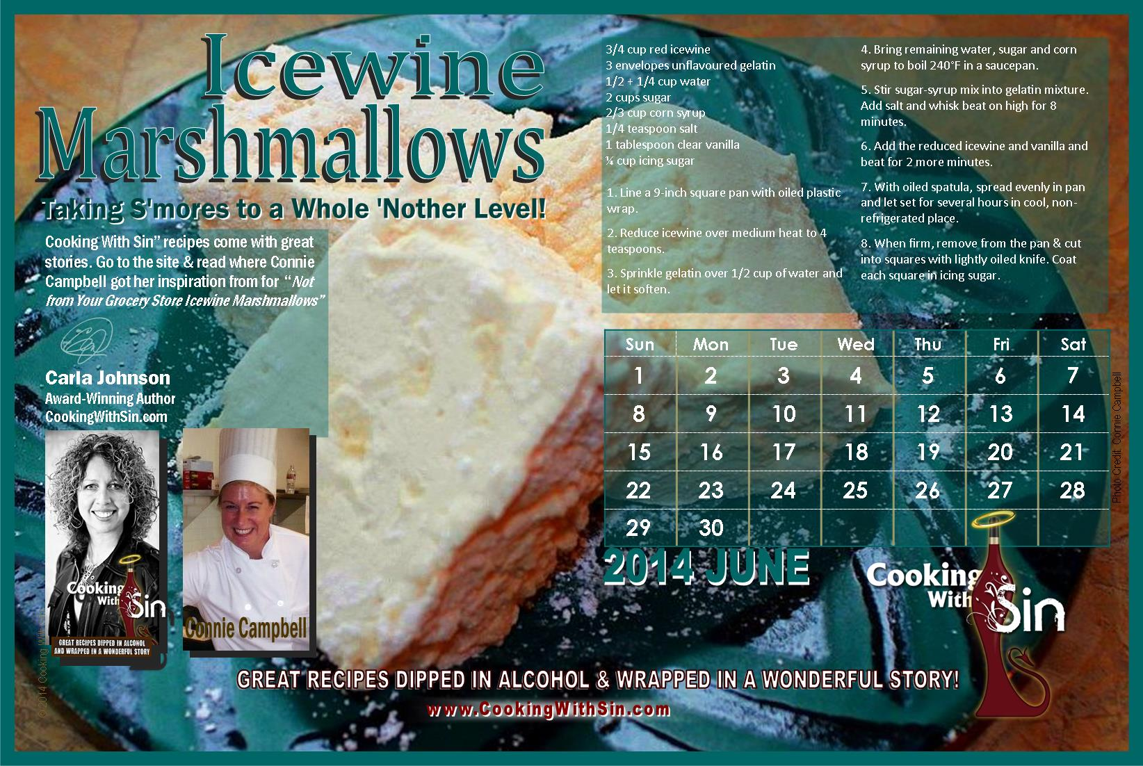 Carla Johnson author Cooking With Sin