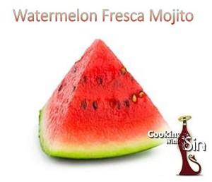 Watermelon Fresca Mojito Cooking With Sin 2